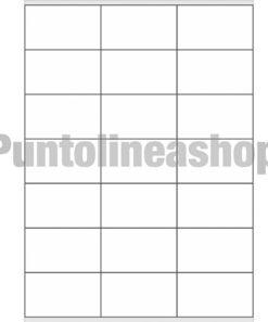 Etichette Adesive 70x41 mm 100 fogli A4