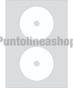 Etichette adesive CD foro piccolo