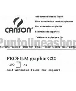Etichette Adesive trasparenti lucide A4 Canson