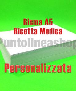Risma A5 ricetta medica personalizzata
